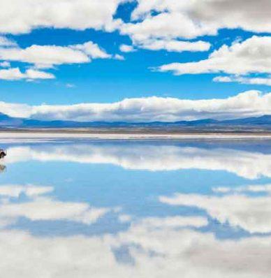 ¿Cuándo se da el efecto espejo en Uyuni?