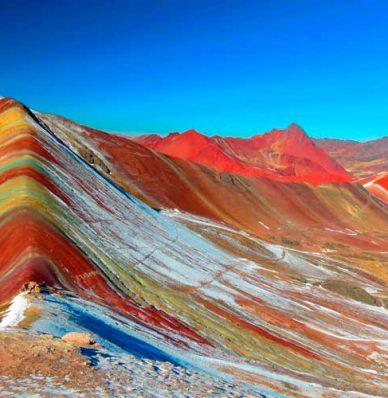 Tour Montaña de 7 Colores y Valle Rojo 1 dia