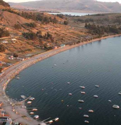 Como llegar al Lago Titicaca desde La Paz