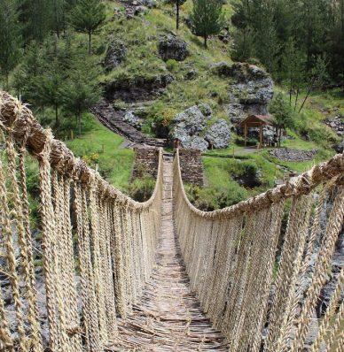 Como llegar al puente de Qeswachaka Cusco