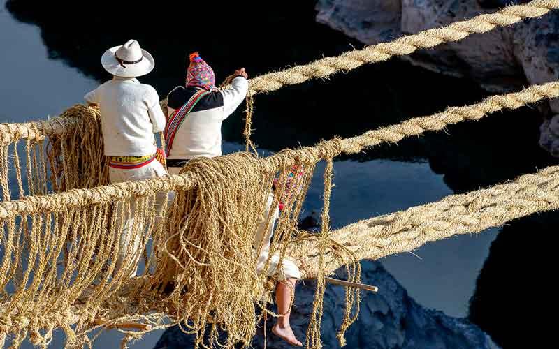 ¿Como llegar al puente de Qeswachaka Cusco?