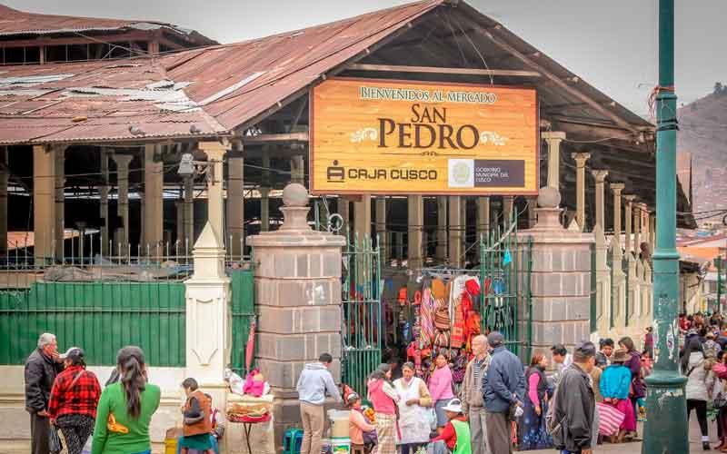 Mercado San Pedro Cusco como llegar