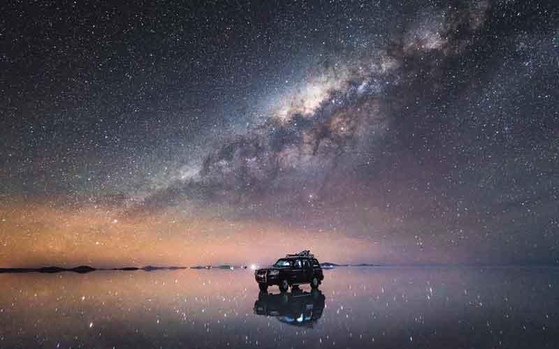 Tour Salar de Uyuni Atardecer y noche de estrellas