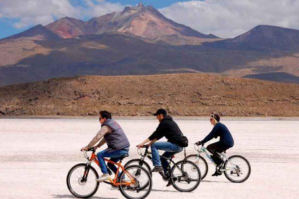 Tour Salar de Uyuni en Bicicletas 1 día